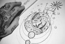 Nanquim / Obras fantásticas de artistas diversos que utilizam nanquim para me inspirar.