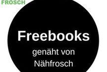 Freebooks sewed by Nähfrosch / Hier zeige ich alle Nähwerke, die ich nach frei verfügbaren Freebooks genäht habe.  This board shows what I sewed from available freebook patterns.