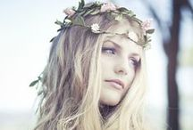 Wedding Hair Inspiration - Boho / Inspiration for all our free spirited brides