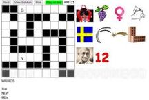Word Games, Puzzles and Crosswords / Collection of free puzzle games from http://alfunstuff.com