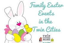 Easter Ideas / Bunnies, chocolate and everything cute and fuzzy for Easter! Curated by #TwinCitiesMoms