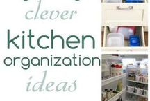 Creative Kitchen Ideas / Creative kitchen storage ideas for kitchens of all sizes curated by the team at Twin Cities Moms!