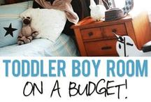 Little Boy Bedroom Decor / Decorating ideas for little boy rooms curated by Twin Cities Moms!