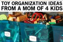 Storing the Toys / Ideas about how to keep the toys clutter under control