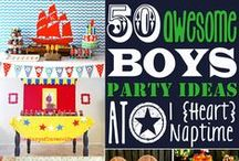 Little Birthday Boy / Birthday party ideas for the little man in your life