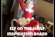 Elf'in on the Shelf'in / Creative places where your Jingle or Snowflake can hide or cause mischief