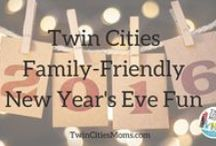 Happy New Year / Ringing in the New Year with fun for the whole family and some resolutions too!