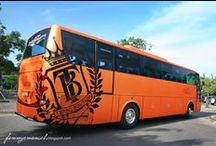 Indonesian BUS 1 / Indonesian intercity buses,  taken from anywhere, nice body from good caroseries, powerful engine from favorited brand, interesting liveries, loved by many buslovers & bismania