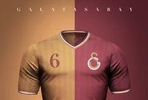 Camisetas de fútbol / Concepto de diseño de camisetas de algunos clubes de fútbol en diferentes estilos.