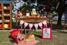 Picnic da Júlia 3 / Festa anivesário picnic, picnic party ideias