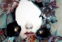 Art: Marco Mazzoni / Fantastic coloured pencil and ink drawings from Marco Mazzoni