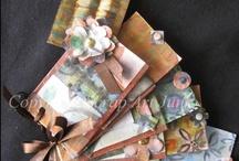 Scrabooking My recycled material / Scrapbooking minialbum tutto materiale riciclato senza spendere un soldo