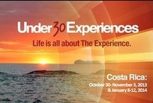 Under30Experiences: Upcoming Experiences / Join us and stay informed of upcoming Under30Experiences / by Under30CEO