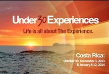 Under30Experiences Costa Rica / Costa Rica is a hub for sustainability, lifestyle, and design, as well as the global leader in alternative energy. / by Under30CEO