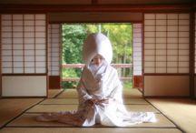 Japanese wedding / 日本の結婚式・和装コーディネート / by Ayaha