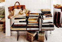 Decorating with Books / Because books are not meant to be just read but to be lived with. / by K. Sander