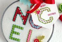 Handmade Christmas: DIY Christmas Crafts / Christmas cards, tags, décor and gift wrap ideas for the paper lover. Create your own Christmas Crafts.