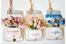 Handmade Gift Tags / Shaped tags and DIY vintage tag ideas.