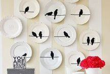 Vinyl and More Home Decor for Die Cutters / Vinyl and heat transfer projects for your home using your Silhouette, Cricut or Pazzles cutting machine.