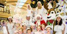 Karrinyup | Santa's White Christmas Arrival Parade / View the photos from Santa's White Christmas Arrival Parade at Karrinyup. Santa will be visiting us until Christmas Eve for Santa Photography!