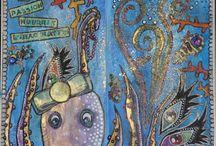 Art journal by Tipivoine