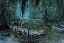 Swamps and such / beautiful and/or creepy swamps