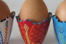egg cups / gewoon eierdopjes
