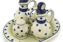 Blue/white stuff. Porcelain, Polish ceramic, glass, and such / blue/white stuff