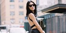 S U M M E R // Street Style / How to dress elegantly in hot climes