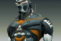 3D Mechs and Bots / Mechs, robots, cyborgs and other machine-like characters made in 3D.