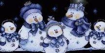 Snowmen - Sneeuwpoppies / Snow