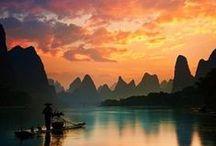 Puestas de sol / Best sunsets / Atardeceres de impresión