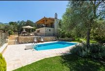 Villa Caneva / Set in an area of magnificent natural beauty, surrounded by gardens of grass and pretty flowering shrubs.