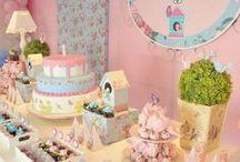 Aniversários meninas -inspirações