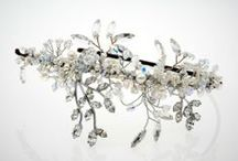 Beaded wedding hair accessories