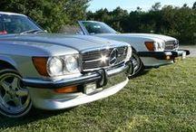 Brothers :-) / Mercedes Benz W107 450SL & Mercedes Benz W107 450SLC