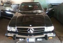 Mercedes W107 450SL (1980) / Mercedes W107 450SL (1980) Restoration Project 2011