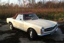 Mercedes W113 230SL (1963) / Mercedes W113 230SL (1963) Restoration Project 2012