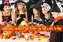 Happy Halloween / Halloween is a fun time full of candies, festivities, and mysteries.