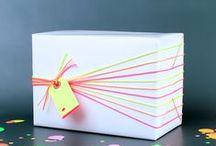 Tk ♥️ les emballages / Parce que le paquet est aussi important que ce qu'il cache...