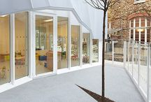 F r o n t / Storefront, windows, exterior structure, outdoor design