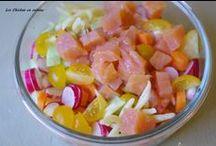 Nos salades / salade;