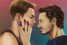 Stony / Steve and Tony