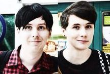 Dan and Phil /  =^.^=  =^.^= =^.^=