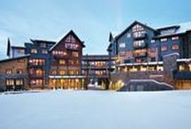 One Steamboat Place / One Steamboat Place - A Timbers Residence Club, located slopeside at the gondola, is a resort unique to Steamboat Springs. Distinctive amenities include Gathering Areas, the Truffle Pig Restaurant, a Ski Valet and Private Locker Room, a Spa, Motion Studio, Fitness Center, Outdoor Pool and Hot Tubs, Tykes' Room and more. Masterfully appointed luxury residences offer an unprecedented opportunity to kick up your heels and make your home in the West's most colorful town.