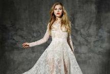 Transparências / Vestidos de noiva com tecidos transparentes e sexies.