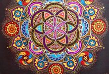 Mandalas / I believe we are nature and nature is divine(Sybil Schonfeld)