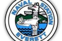 Naval Station Everett / by FRG of the USS Rodney M Davis