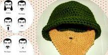 Beanies / Beanies fatti a mano... contattatemi per avere il vostro berretto personalizzato, voi decidete i colori e la fantasia e io lo creo !!!