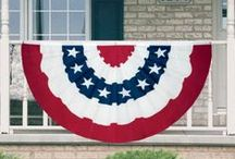 Patriotic Decorating / Show your true colors of Red, White and Blue with Victory Corps large selection of Patriotic Decorating Materials.